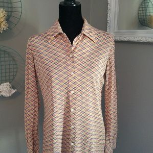 VINTAGE 70'S GRAPHIC PRINT SHIRT